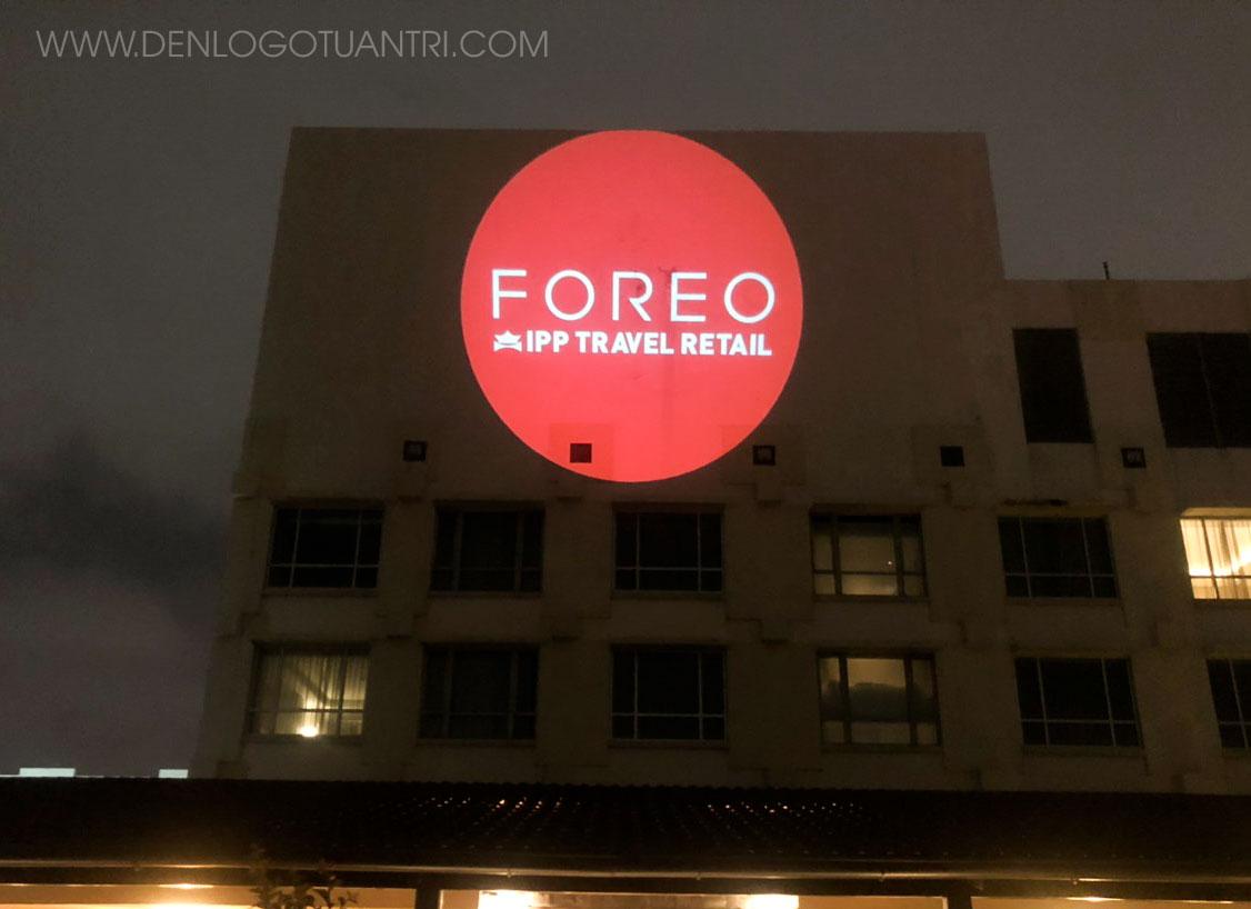 đèn chiếu logo Foreo