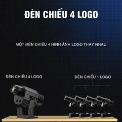 Đèn chiếu nhiều logo
