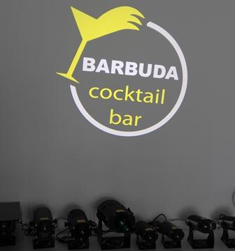 hình ảnh thực tế logo Bar BUDA