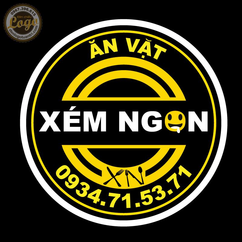 Thiết kế logo Xém Ngon