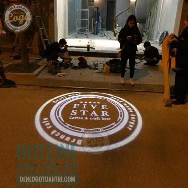Đèn chiếu logo Five Star Beer