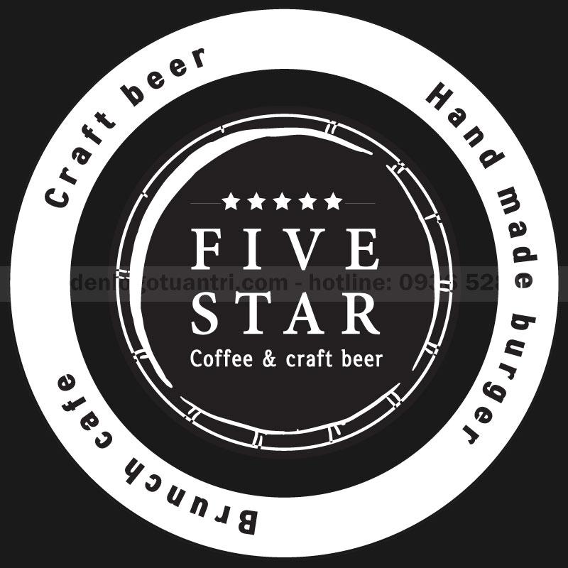 Thiết kế file logo five star