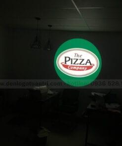 Hình ảnh chiếu logo Pizza Company