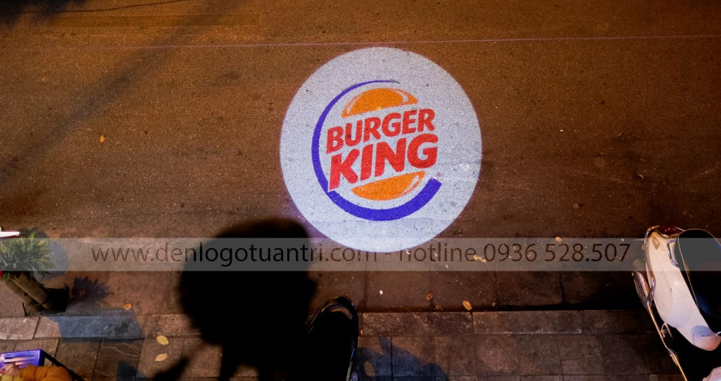 Đèn chiếu logo thương hiệu Burger King