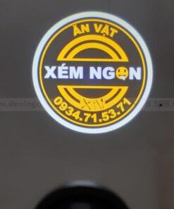 Hình ảnh chiếu logo Xém Ngon