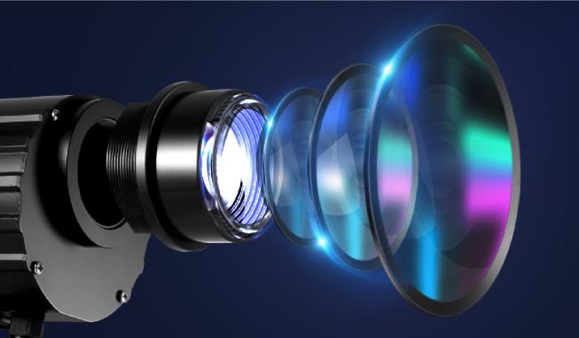Thấu kính đèn chiếu logo