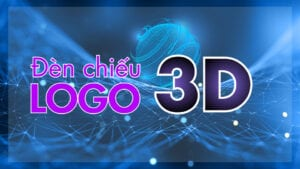 đèn chiếu logo 3d