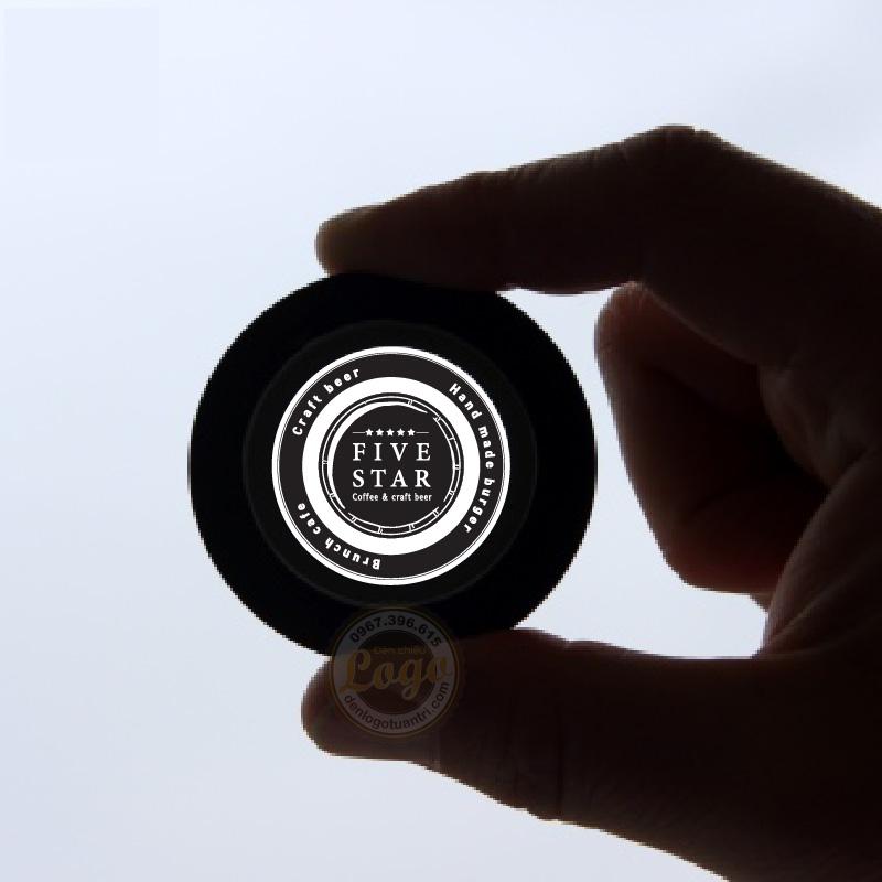 in kính logo đèn chiếu