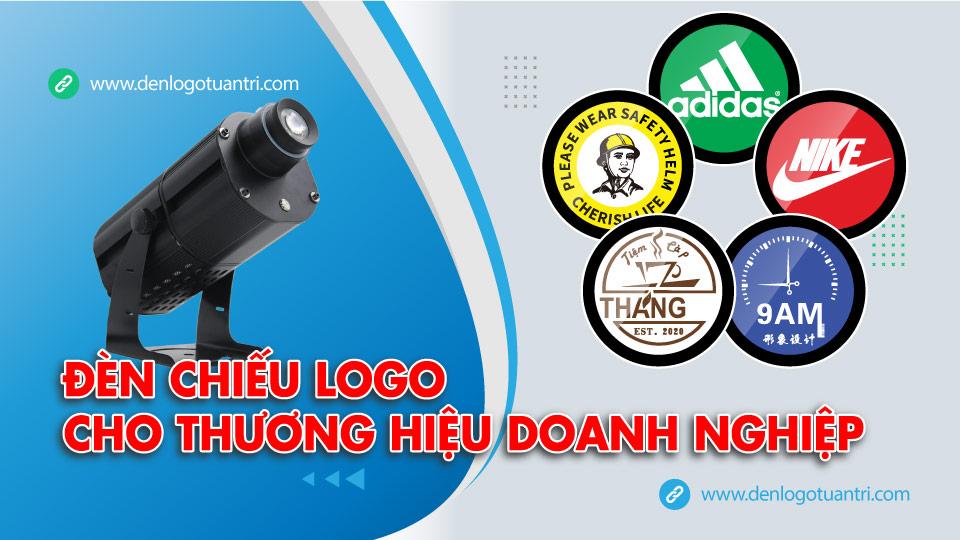 Đèn chiếu logo cho thương hiệu doanh nghiệp