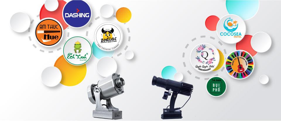 Thiết kế logo cho đèn chiếu logo