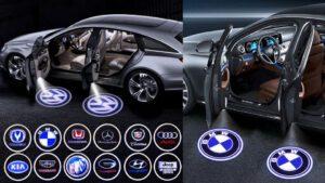 đèn chiếu logo ô tô